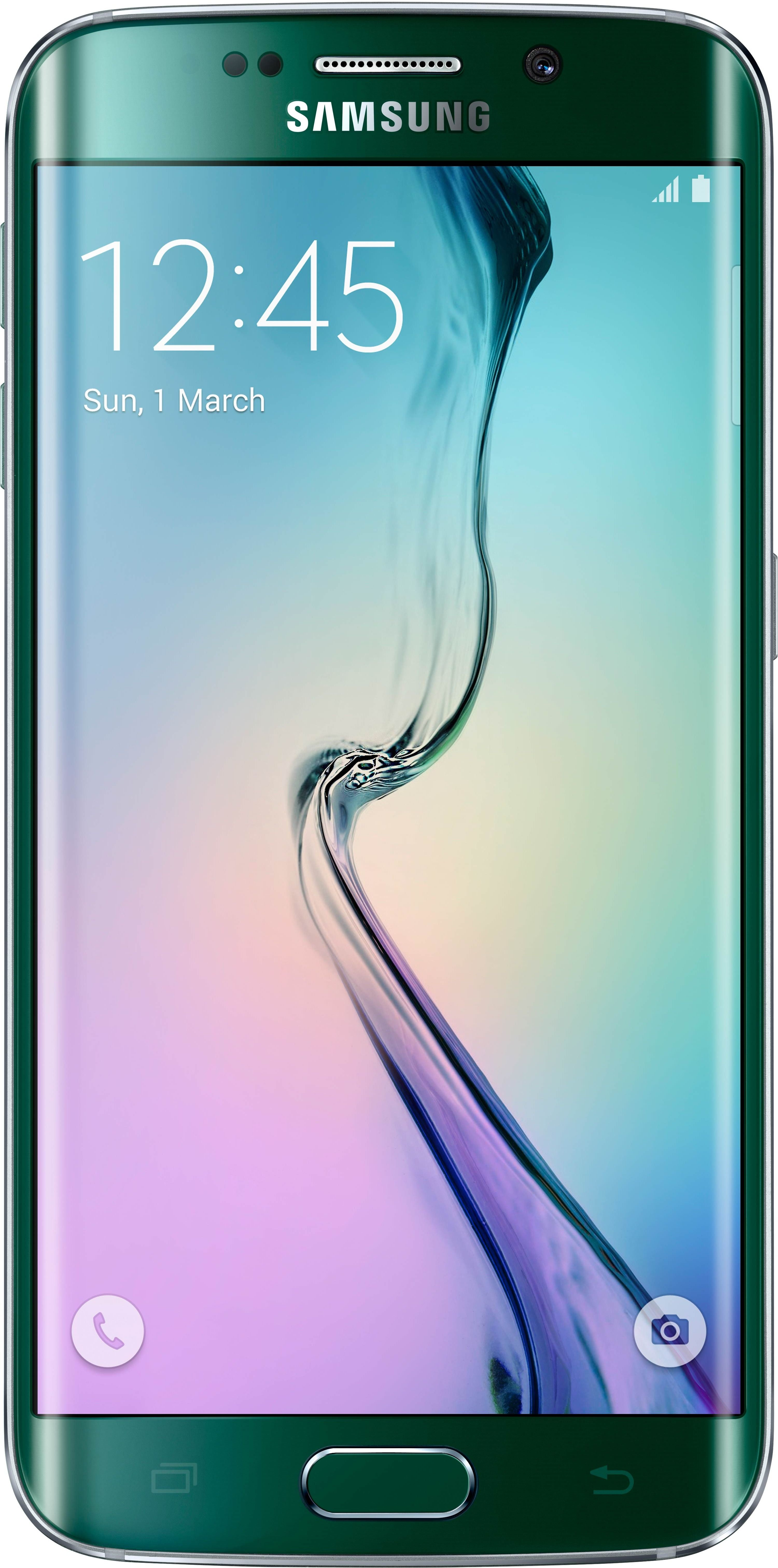 Nye Samsung Galaxy S6 Edge har støtte for 4G+. Foto: Samsung