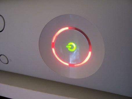 Slik så det ut når en Xbox 360 hadde blitt i heiteste laget.