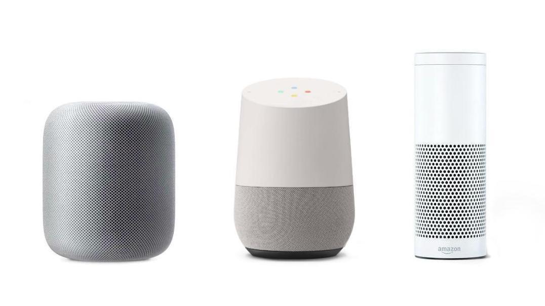 Apple HomePod, Google Home og Amazon Echo har alle sine fordeler og ulemper.