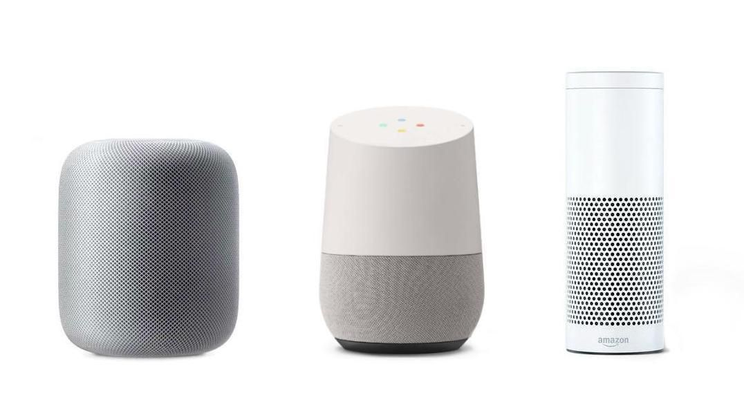 Apple HomePod, Google Home og Amazon Echo har alle sine fordeler og ulemper.