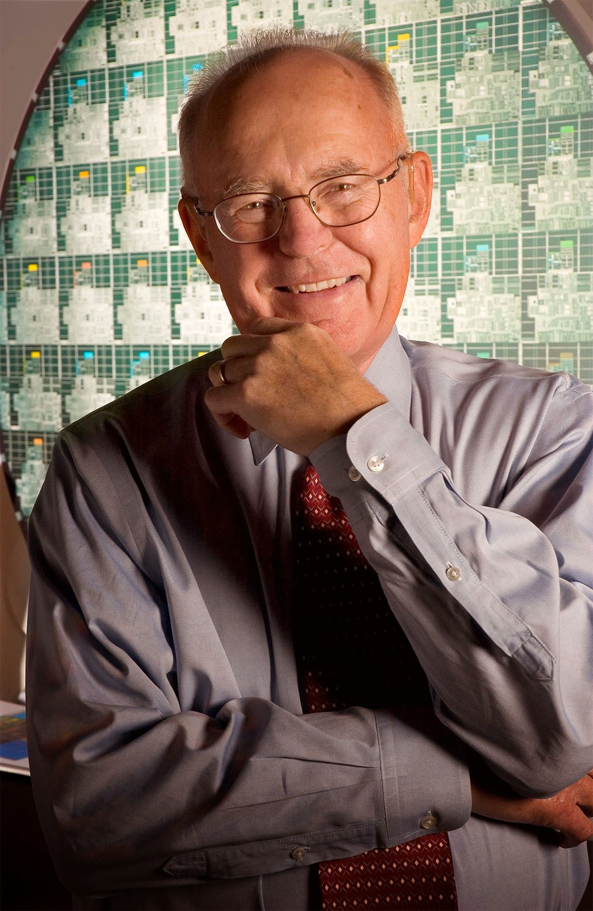 Gordon Moore, med-gründer og tidligere styreformann i Intel.