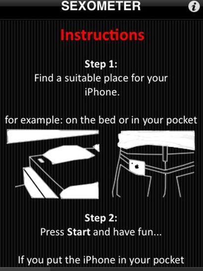 MÅLBART: Denne appen hjelper deg å måle dine prestasjoner under lakengymnastikken. Husk å slå den av når du er ferdig.Foto: iTunes