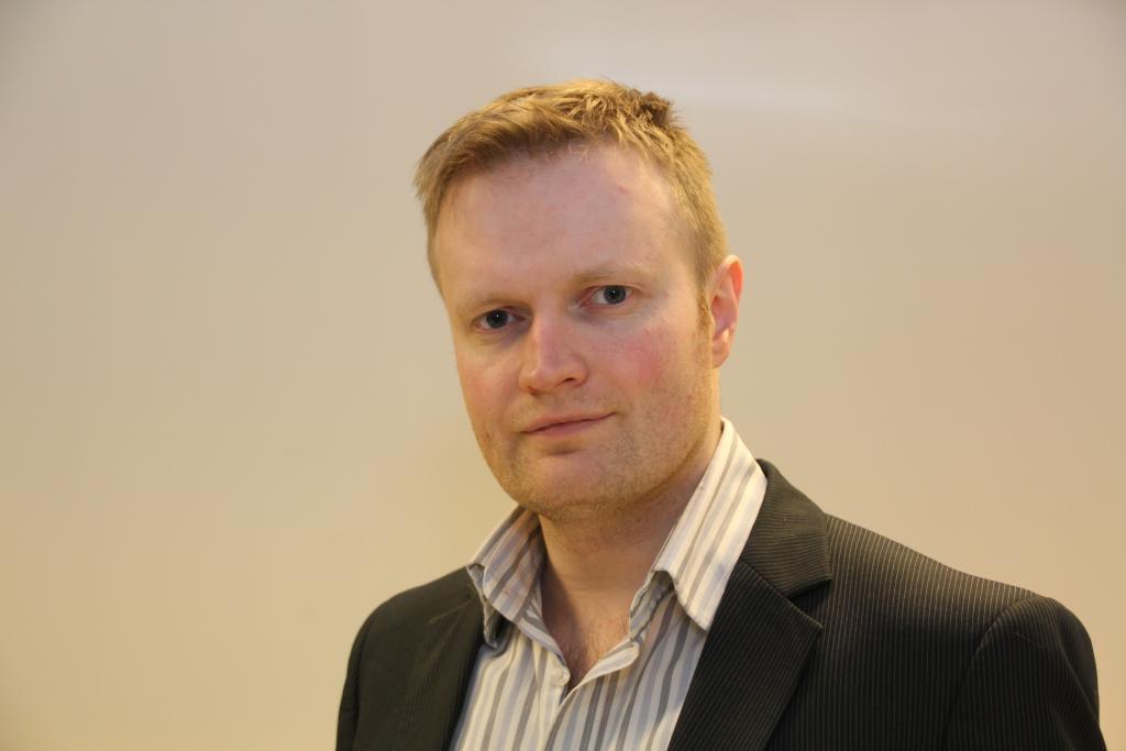 Øystein Jakobsen, leder i Piratpartiet.Foto: Piratpartiet (CC BY-SA 3.0 NO)