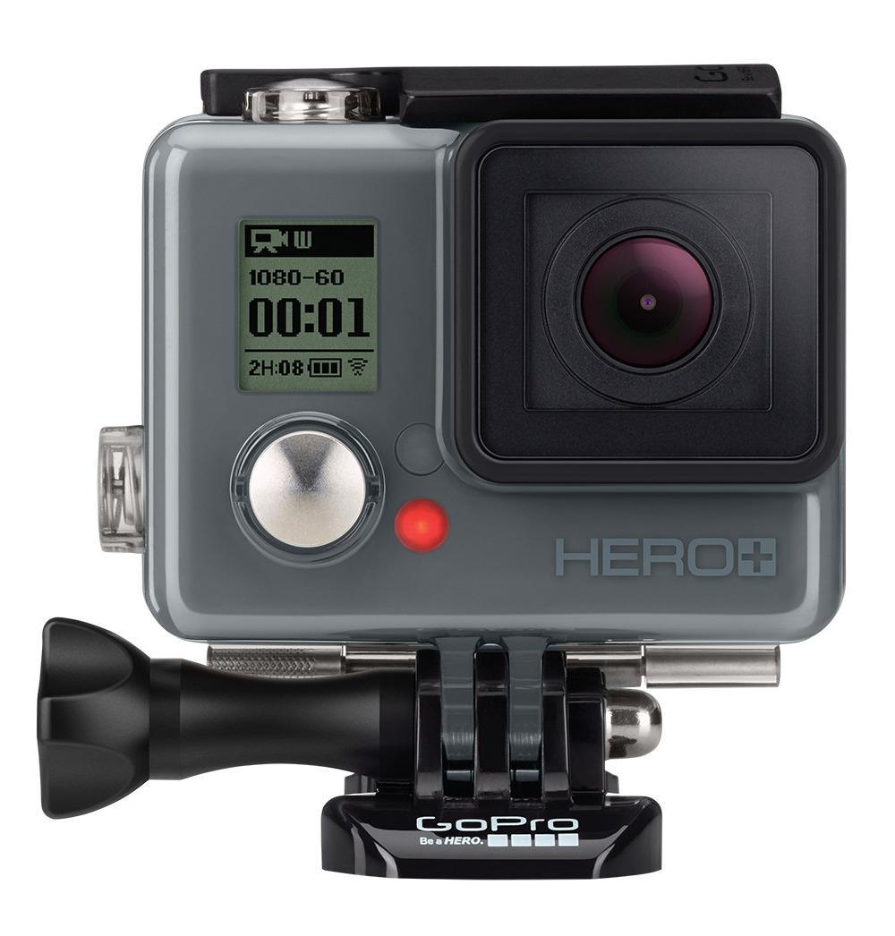 Sett forfra er Hero+ klin likt Hero+ LCD. Faktisk så likt at vi misstenker at de bruker samme bilde. Foto: GoPro