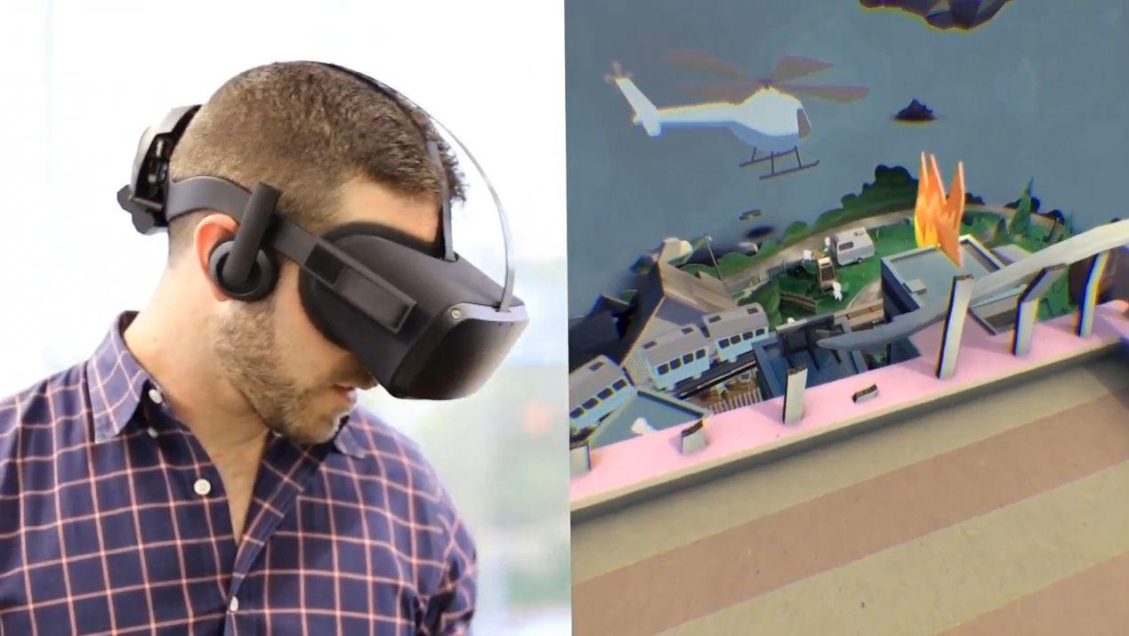 Fjorårets prototype-briller fra Oculus, her avbildet, blir trolig ikke de samme som det nå har dukket opp nye opplysninger om.