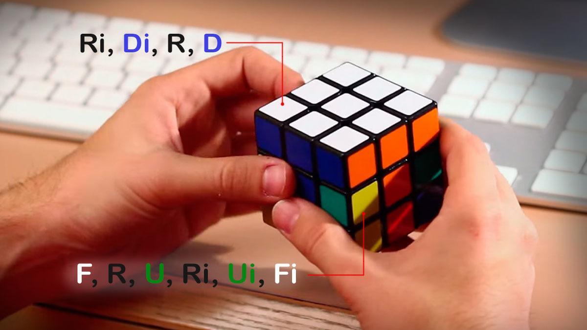 Slik løser du en Rubiks Kube
