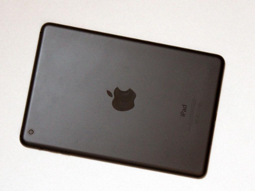 Alt har sin bakside. Slik ser den ut på iPad mini.Foto: Espen Irwing Swang, Amobil.no