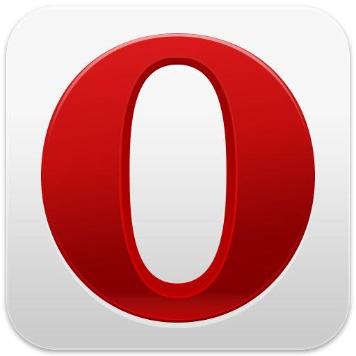 Opera. Opera Mini har samme ikon.Foto: Opera Software