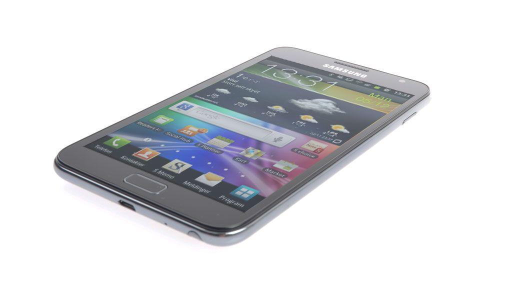 Nå er Samsung større enn Nokia