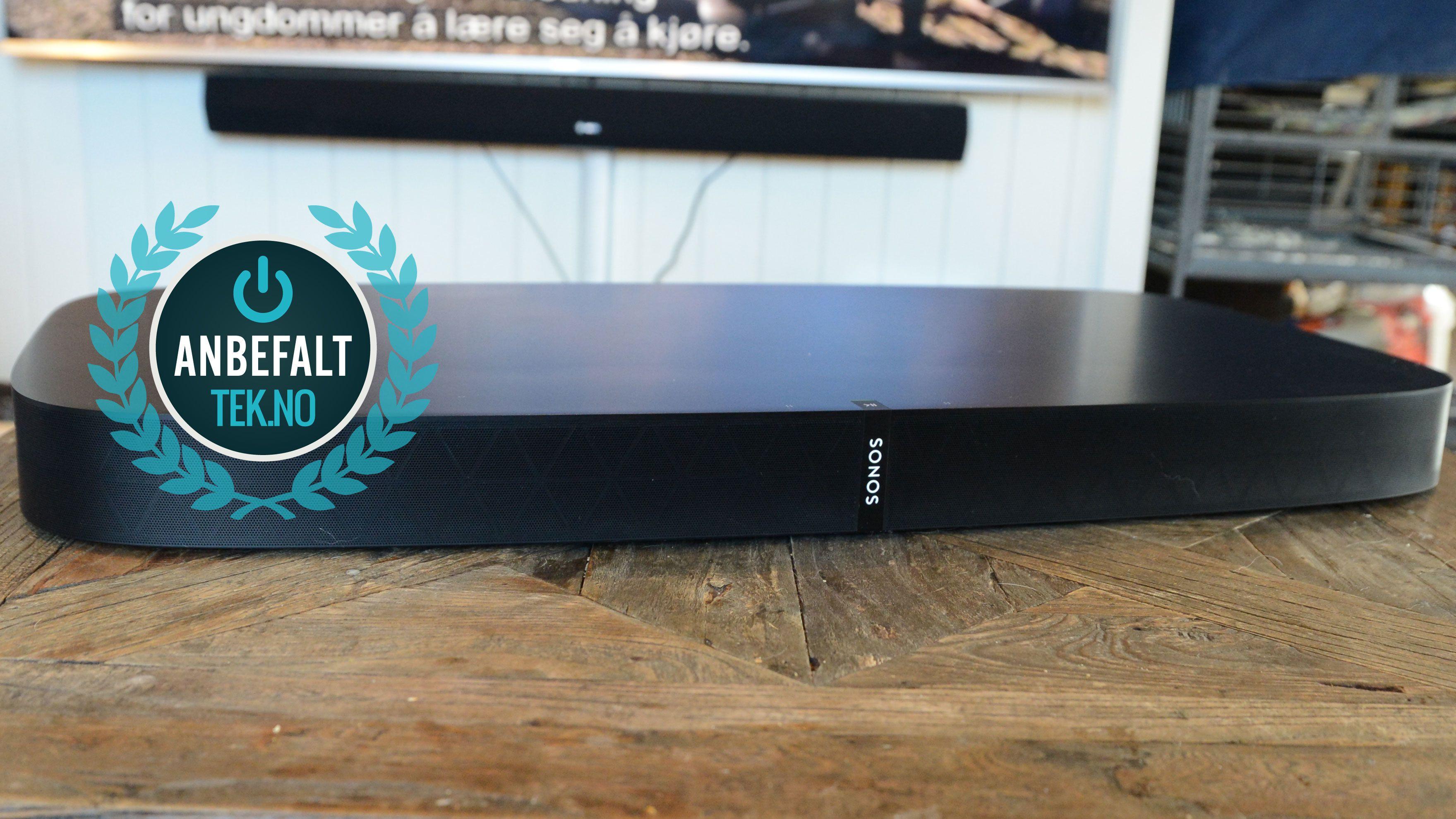 Sonos Playbase er et anbefalt produkt.