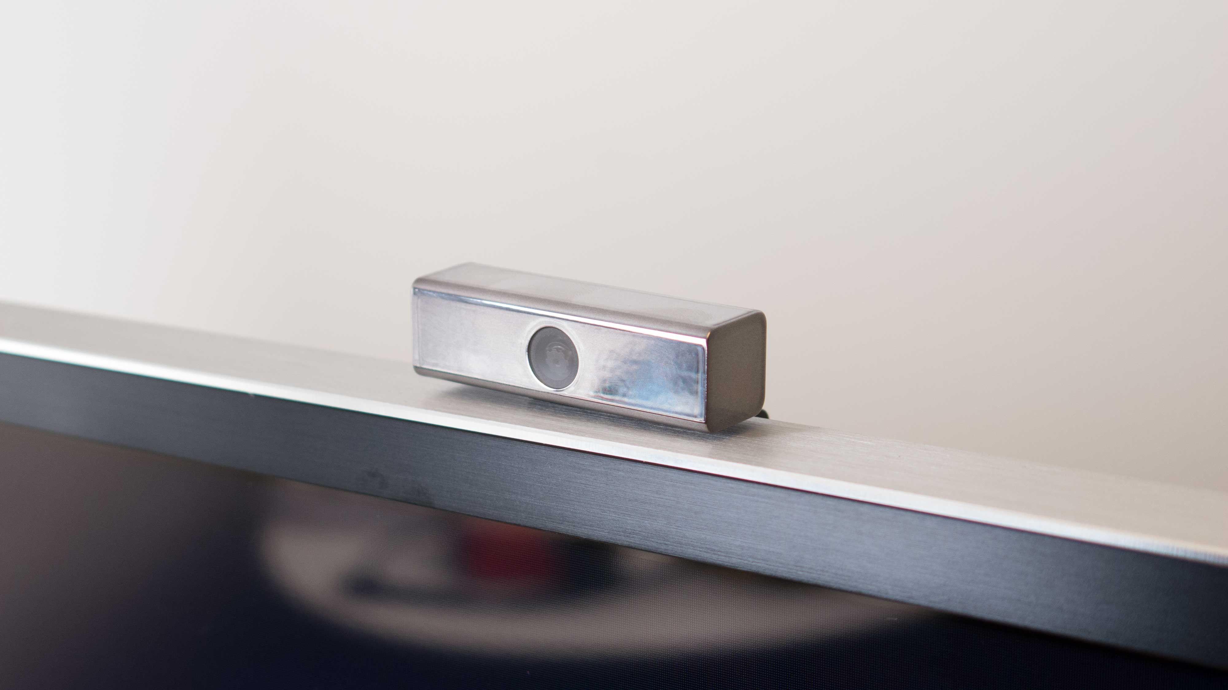Dette webkameraet kunne med hell vært viet mer tid når det kommer til utseende. Heldigvis kan det kobles fra om du ikke skal bruke det. (Foto: Ole Henrik Johansen / Tek.no)
