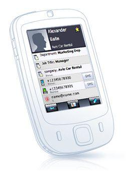 Slik ser FunContact ut. (Illustrasjon: I Love Windows Mobile)