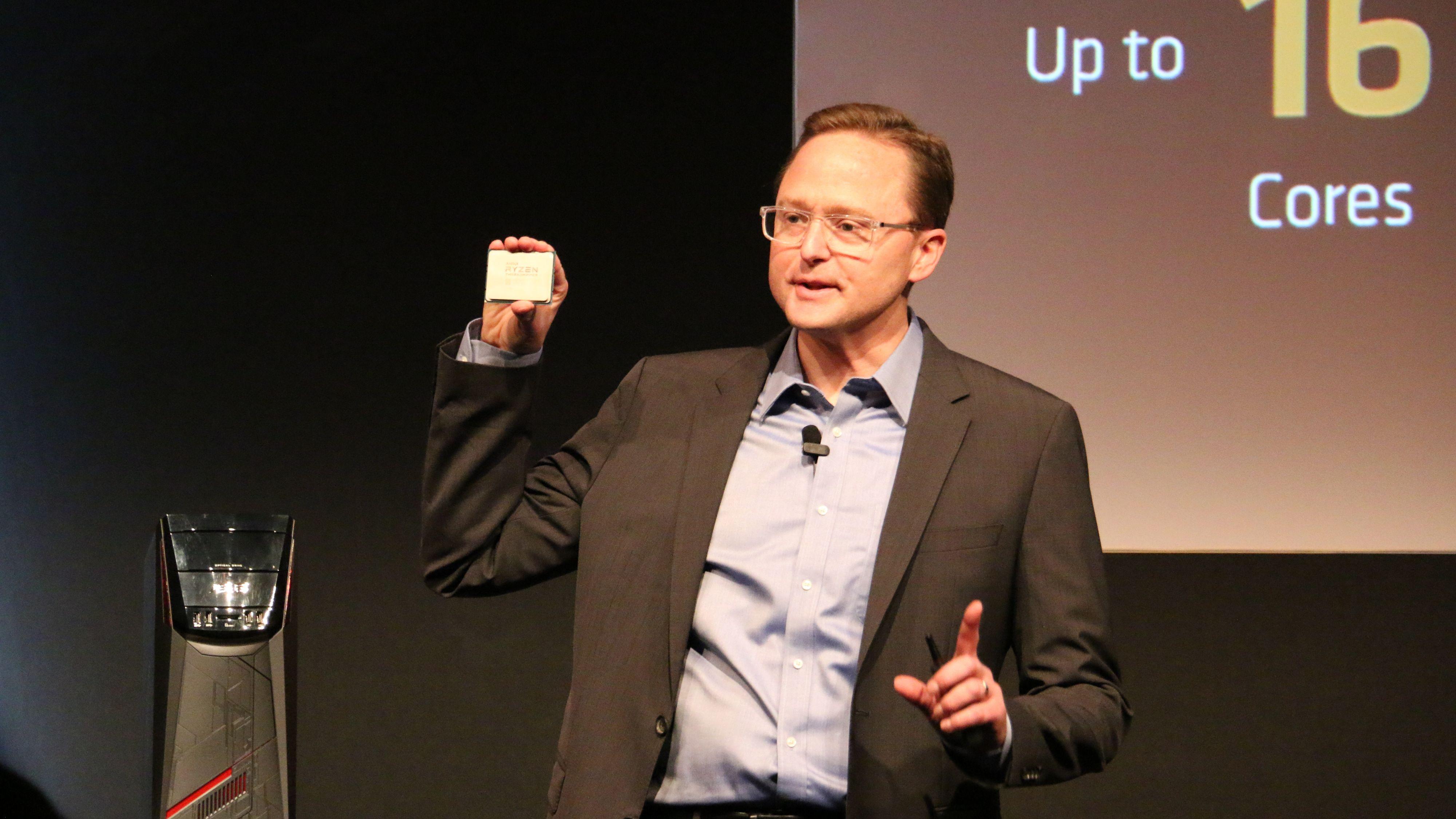 AMDs Computex-pressekonferanse