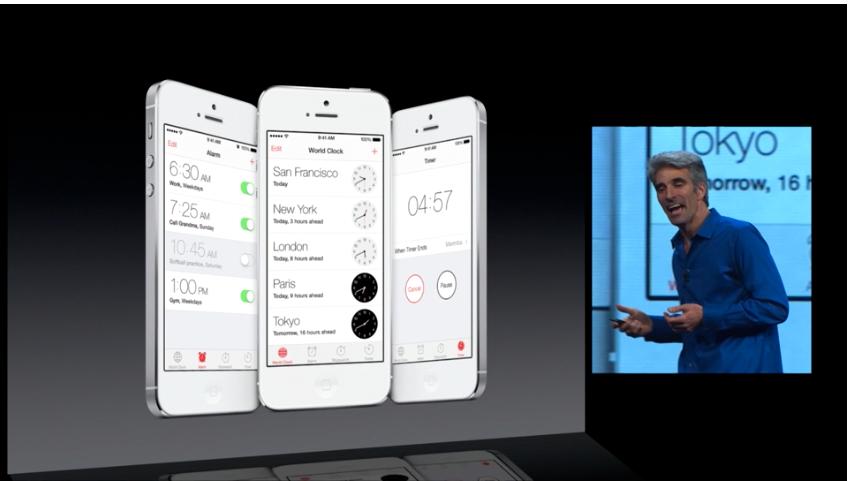 """""""Se så lekkert det er!"""".Foto: Apple"""
