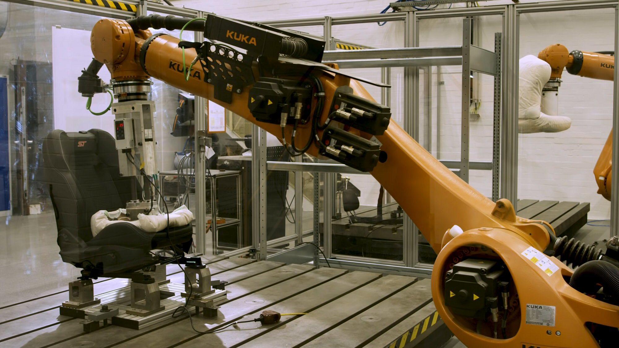 Fords «sitterobot» kan simulere en svett rumpe