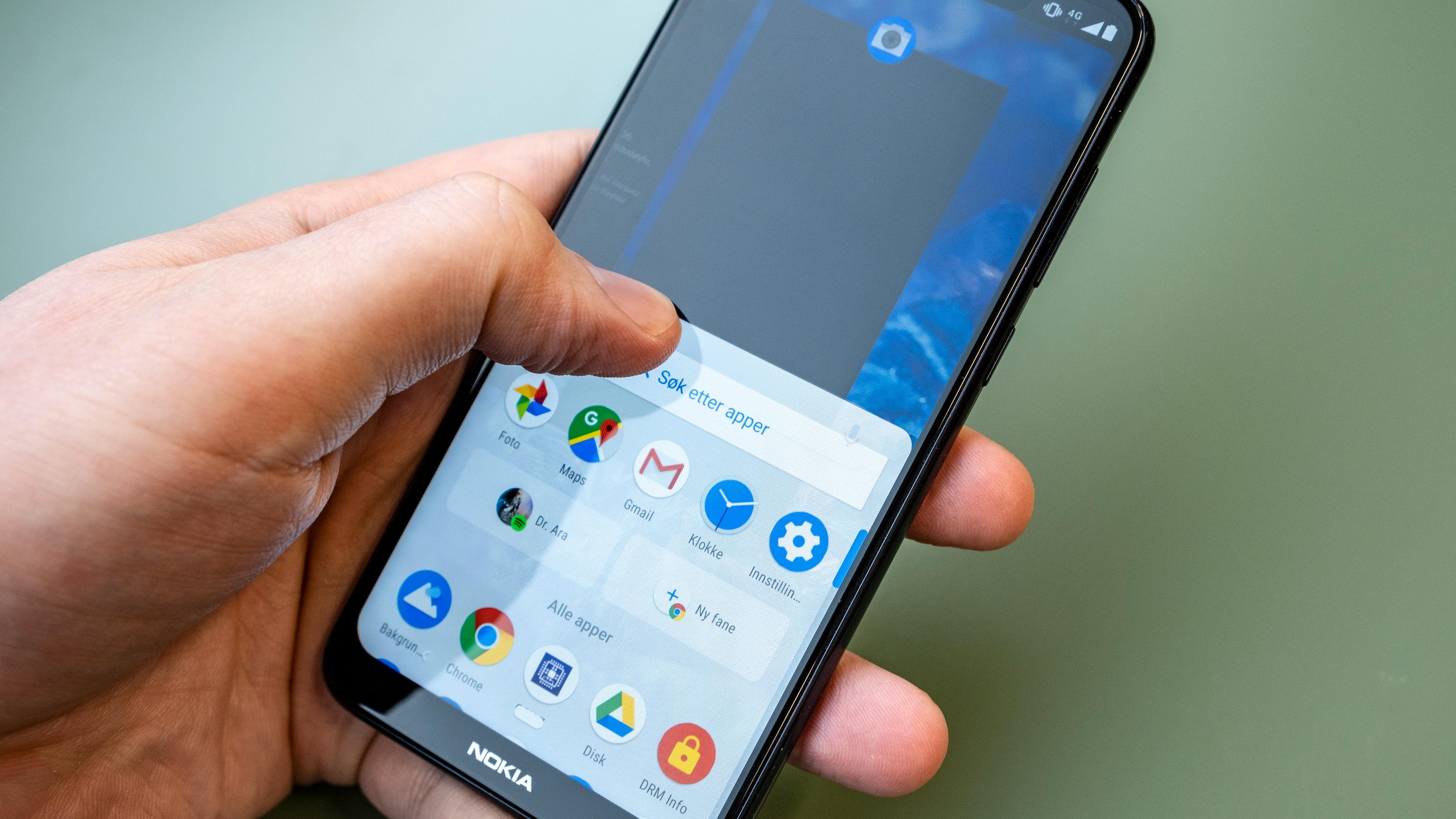 Nokia 5.1 Plus er stort sett rask og god å bruke. Som en av de rimeligere i Nokias utvalg er det nå snart bare gode mobilvalg igjen som bærer Nokia-logoen.