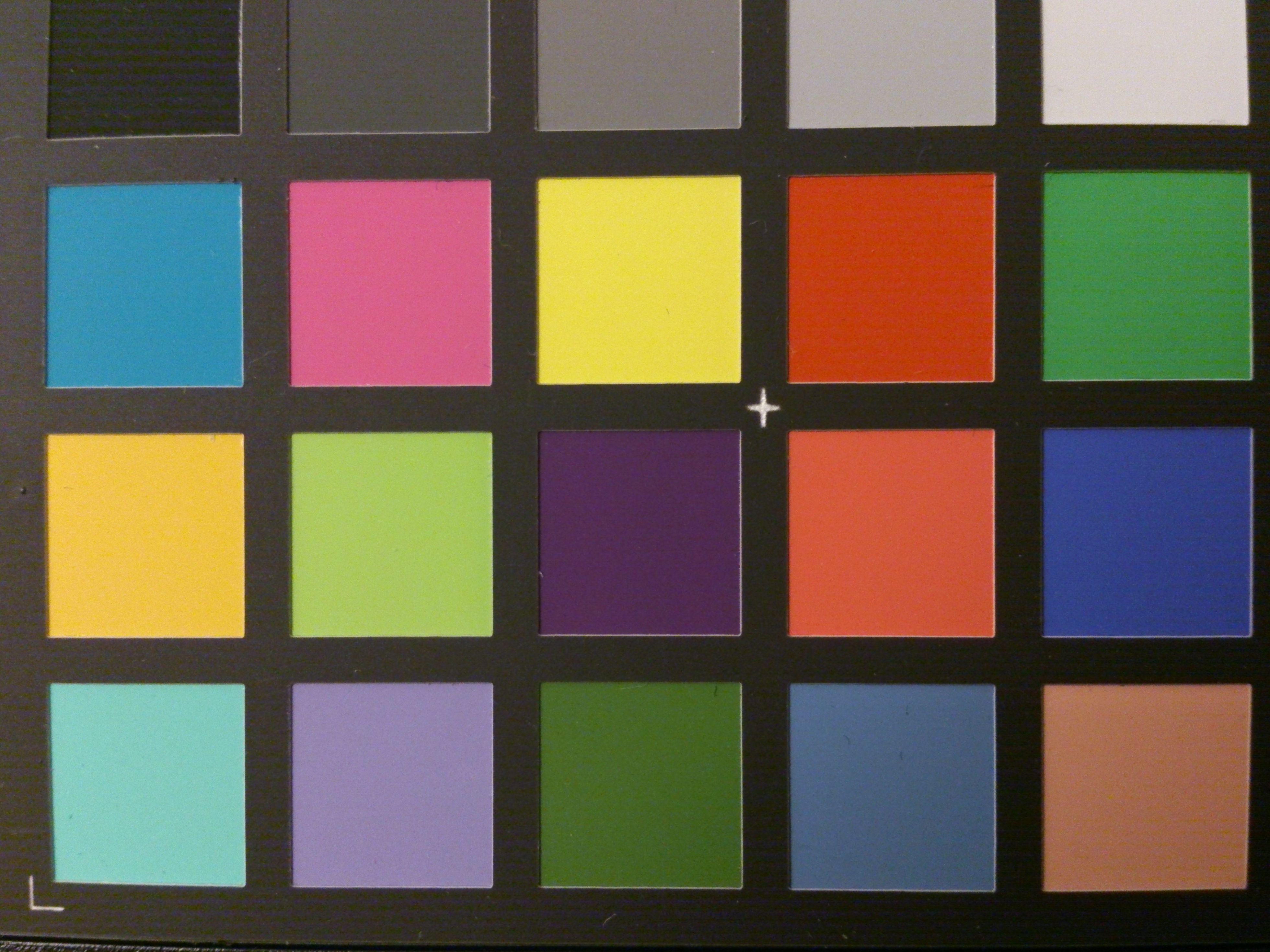 Fargeprøve