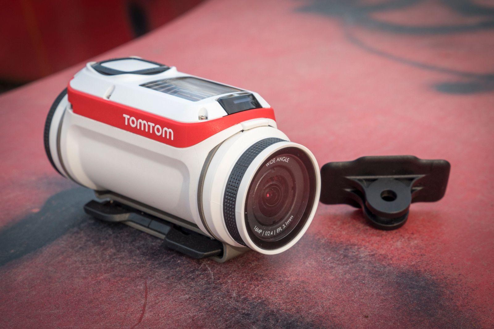 Det medfølgende GoPro-adapteret er en kjempefordel.