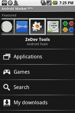Androids programvarebutikk, Market.
