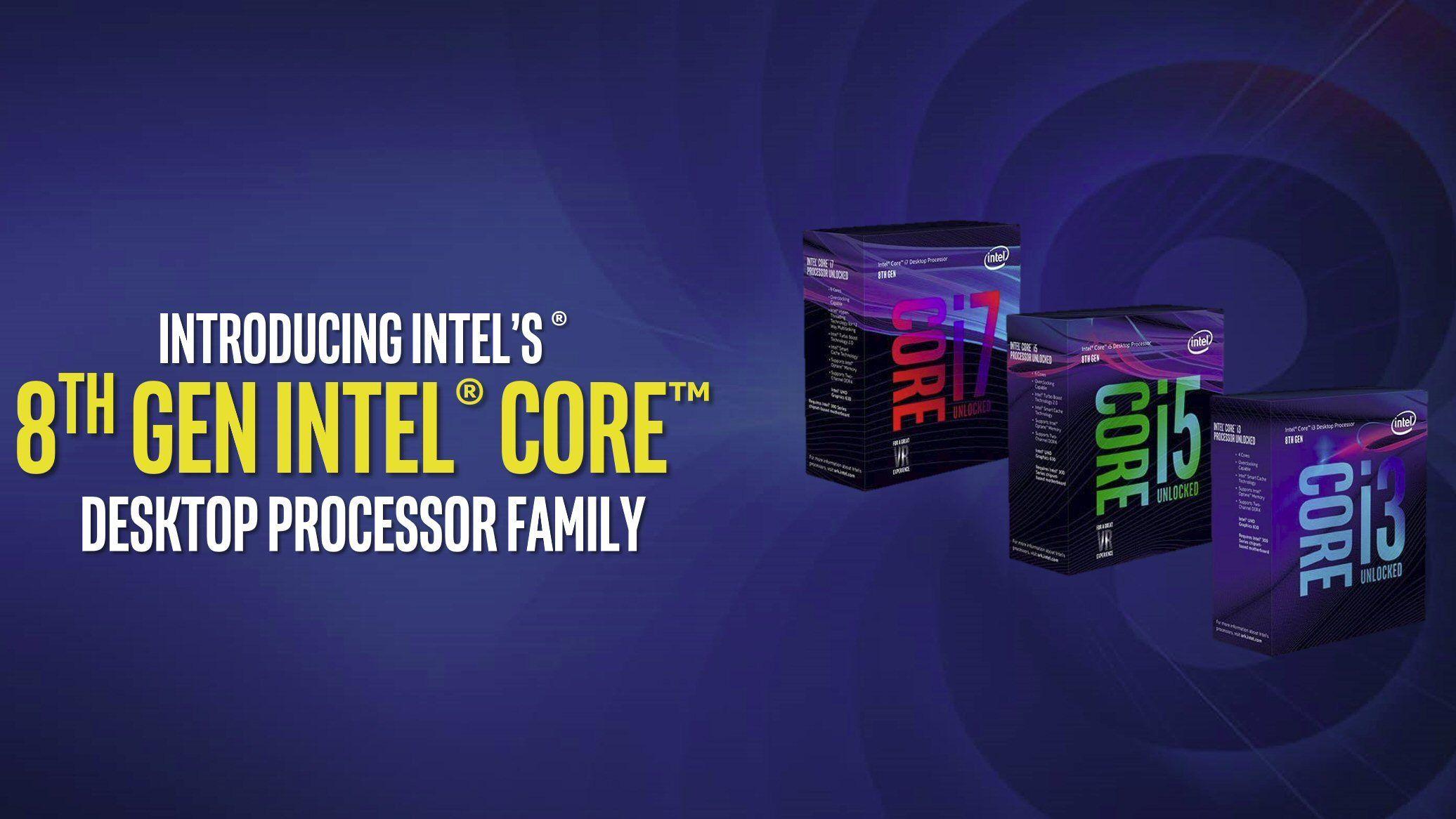 Nå er det offisielt: Dette er Intel Coffee Lake