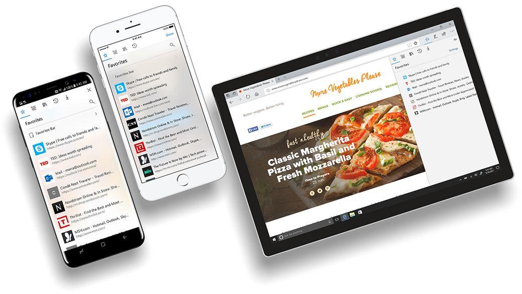 Snart kan du endelig bruke Microsoft Edge på mobil