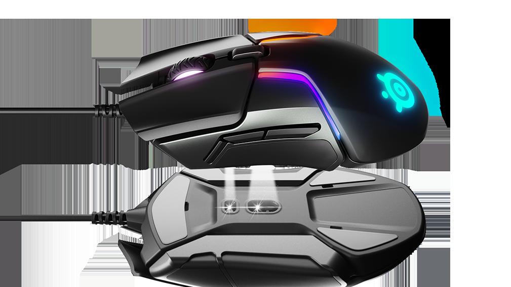 SteelSeries' nye spillmus har to sensorer og lar deg velge vekten selv