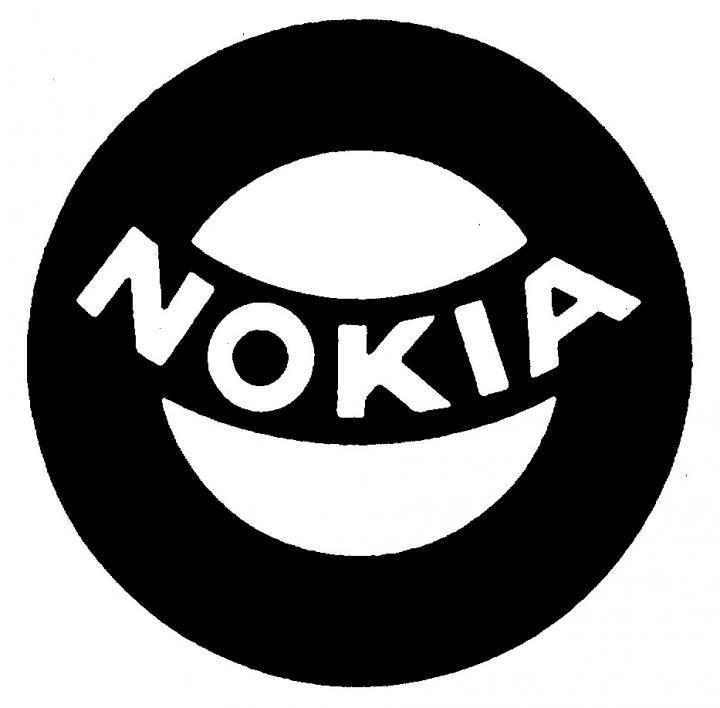 Slik så Nokia-logoen ut i 1965.Foto: Nokia