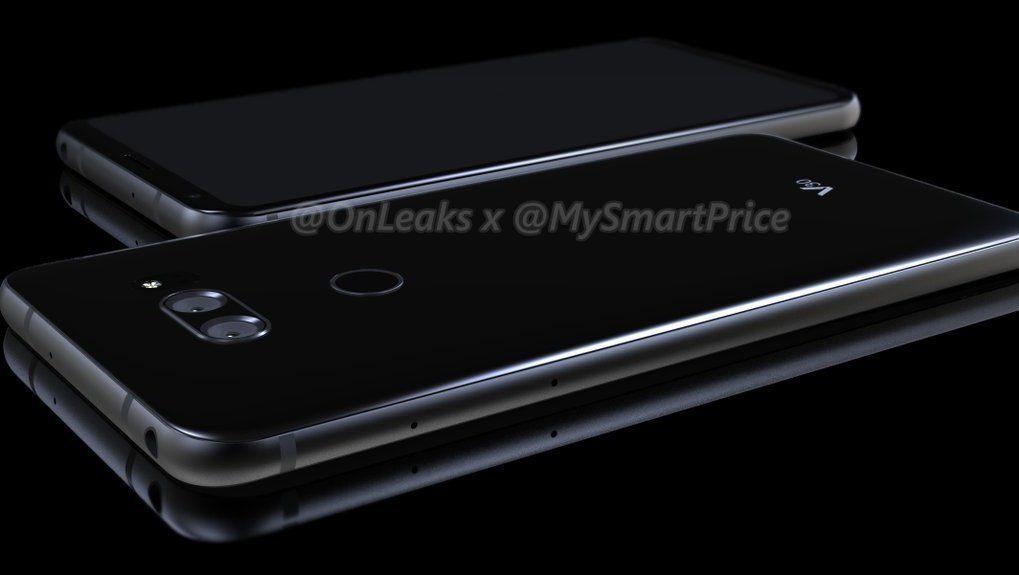 Dette er det nyeste lekkede bildet av det som skal være LG V30..