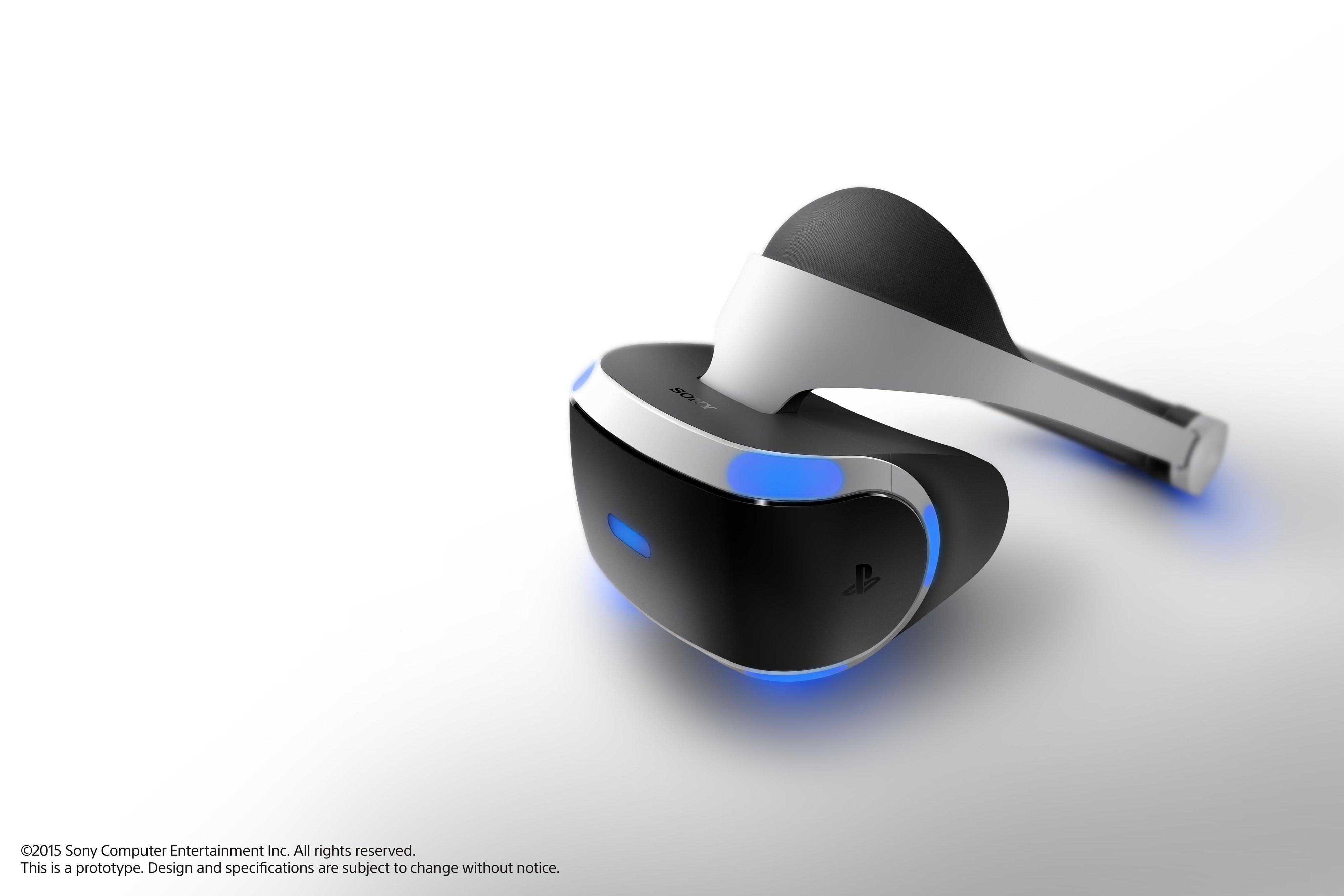 Sonys VR-briller Project Morpheus har nå blitt vesentlig bedre. Foto: Sony