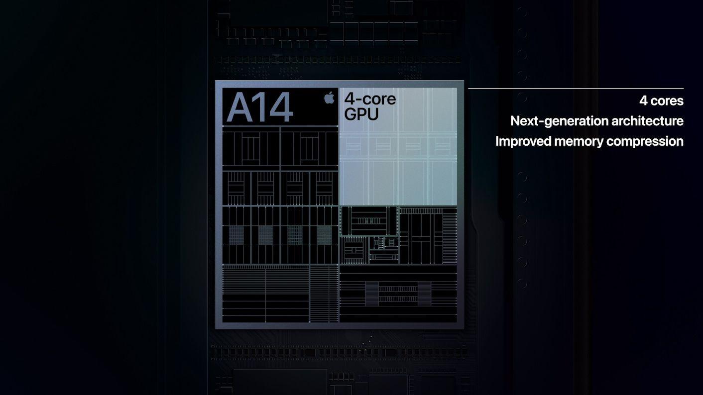 iPhone 12 får A14 Bionic, Apples første 5 nm-prosessor. Den så vi også i nye iPad Air, som ble lansert forrige måned.