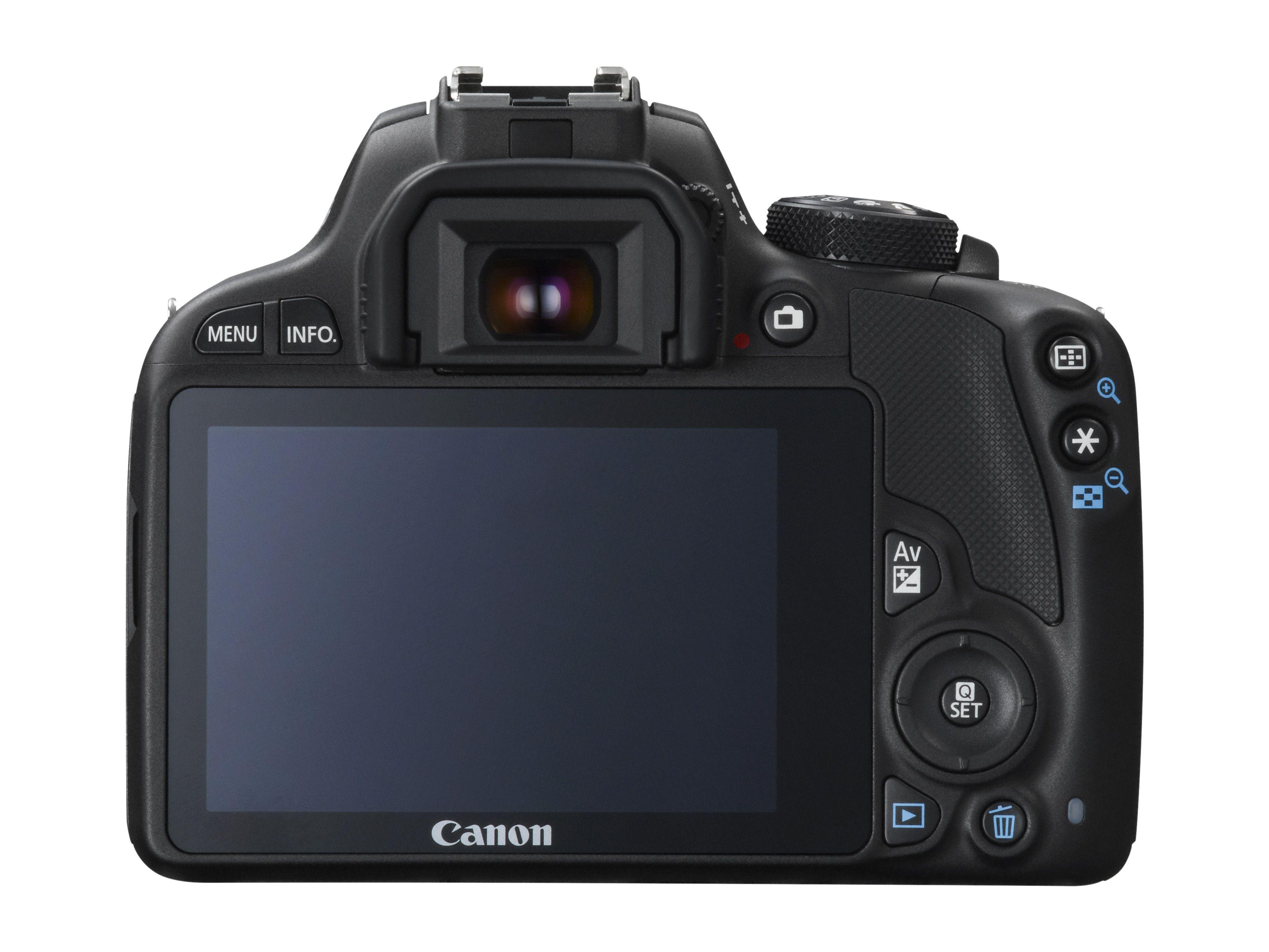 Canon EOS 100D er utstyrt med en trykkfølsom skjerm. Foto: Canon