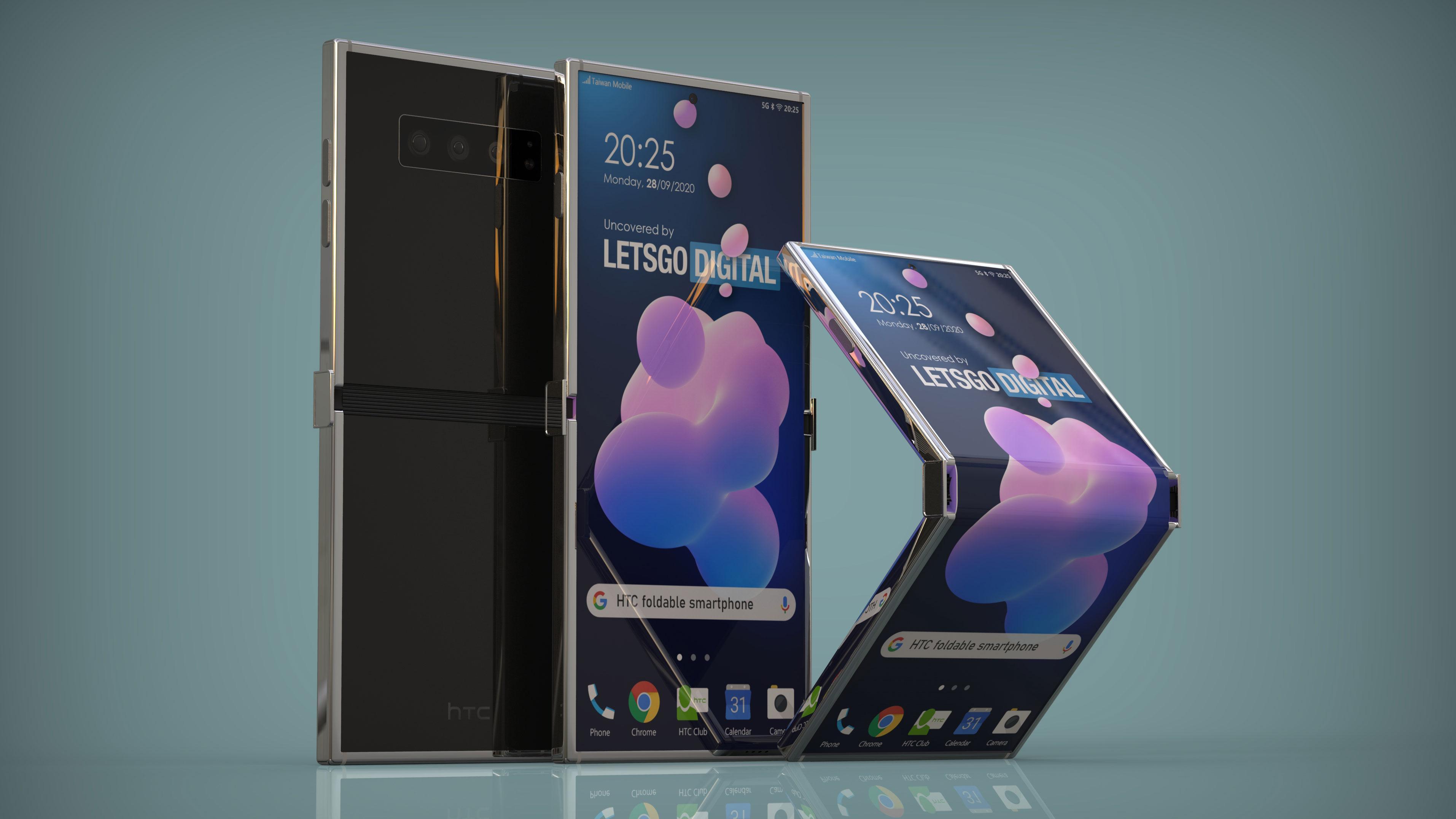 HTC med patent på foldbar mobiltelefon