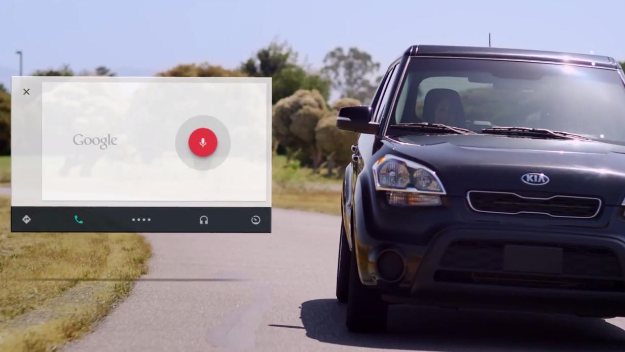 Android Auto vil få omfattende støtte for Google Voice.Foto: Android Developers/YouTube