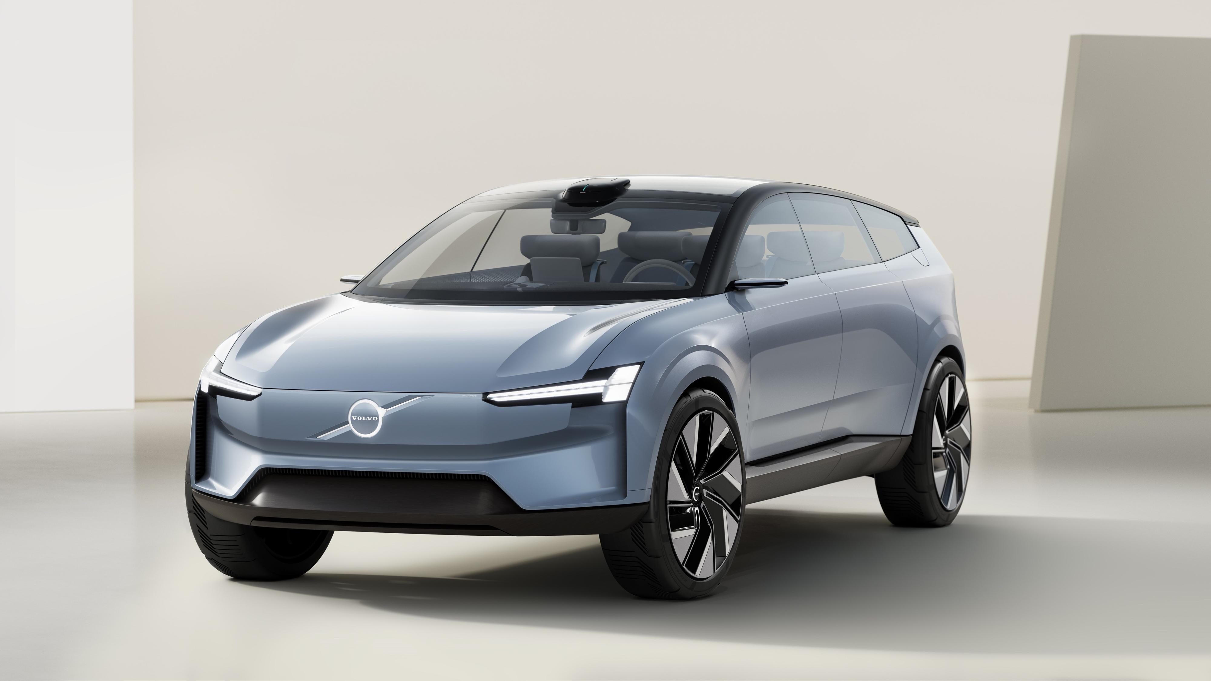 Her er Volvos nye elbilkonsept - har mål om 1000 kilometer rekkevidde