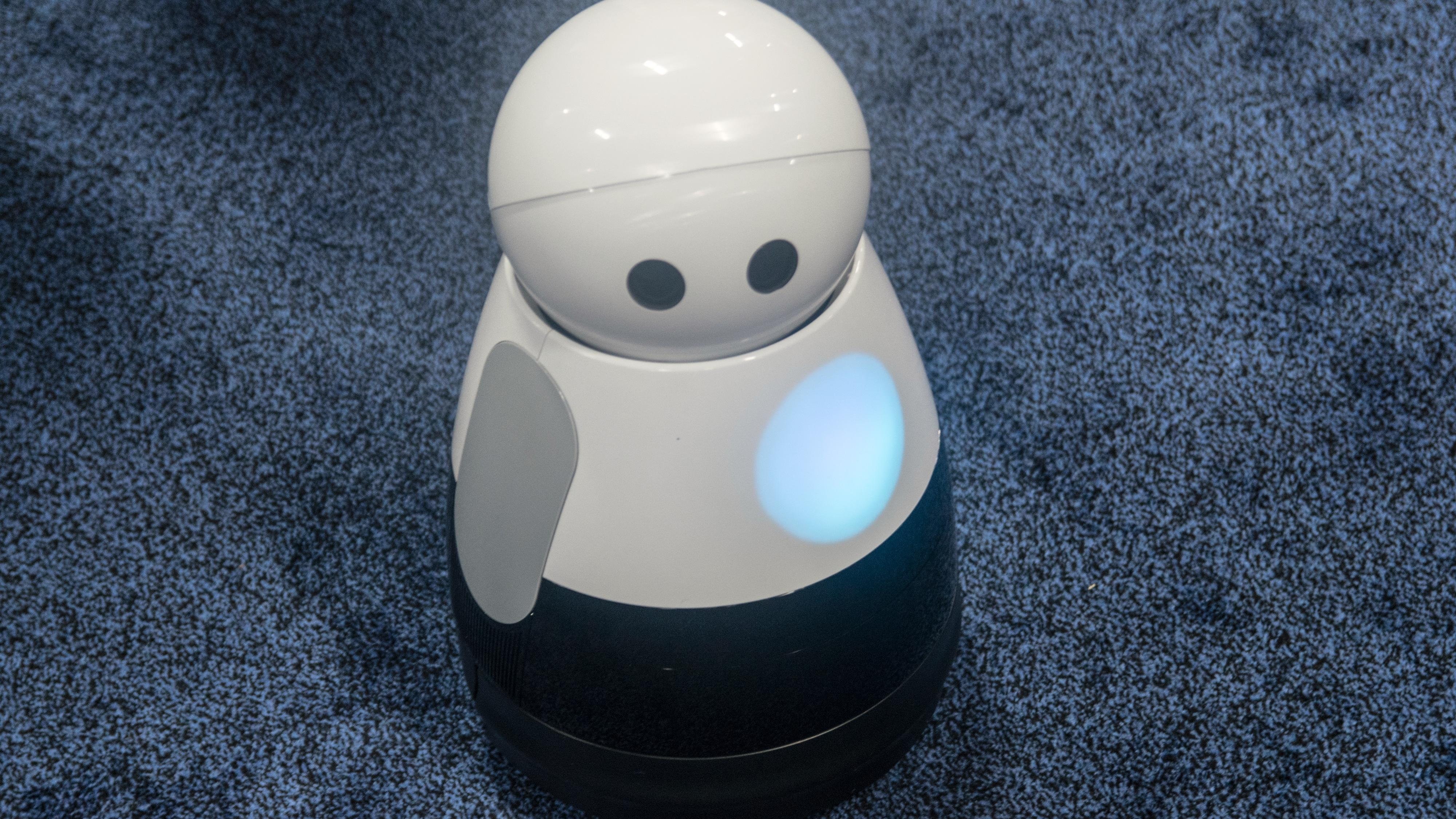 Denne roboten kan dokumentere livet ditt