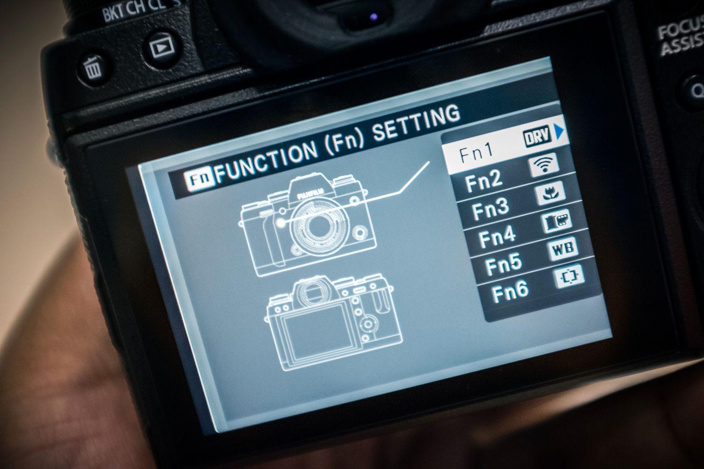 Fujifilm har gjort det enkelt å stille inn Fn-knappene på X-T1. (Foto: Johannes Granseth)