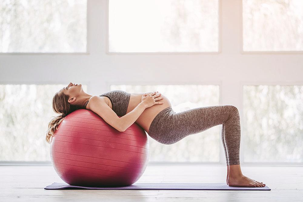 PT Anna R Landaeus ger bästa tipsen om träning för gravida.