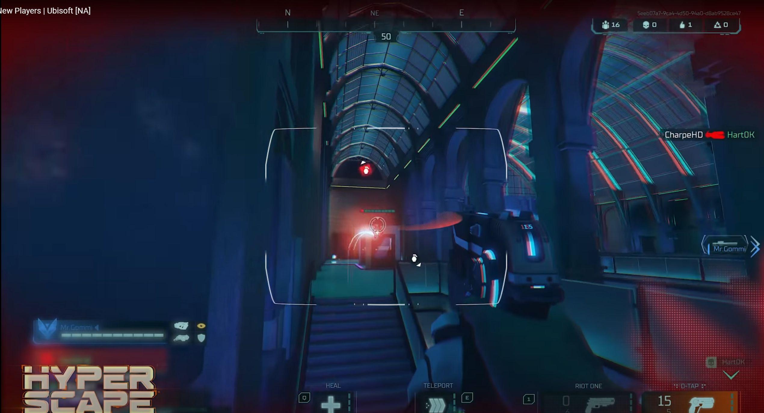 Spillet har en futuristisk setting