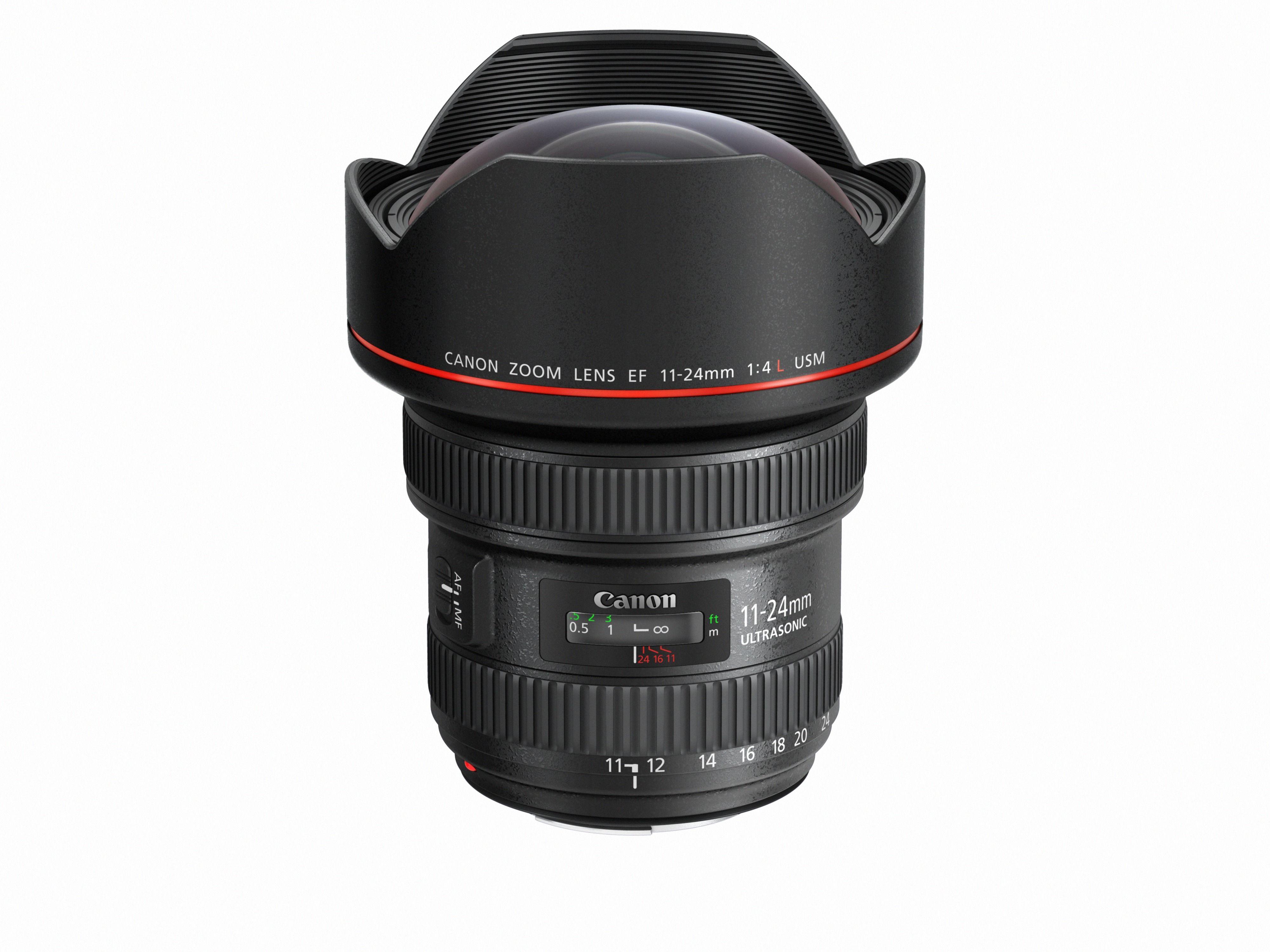 Canon EF 11-24mm f/4L USM. Foto: Canon
