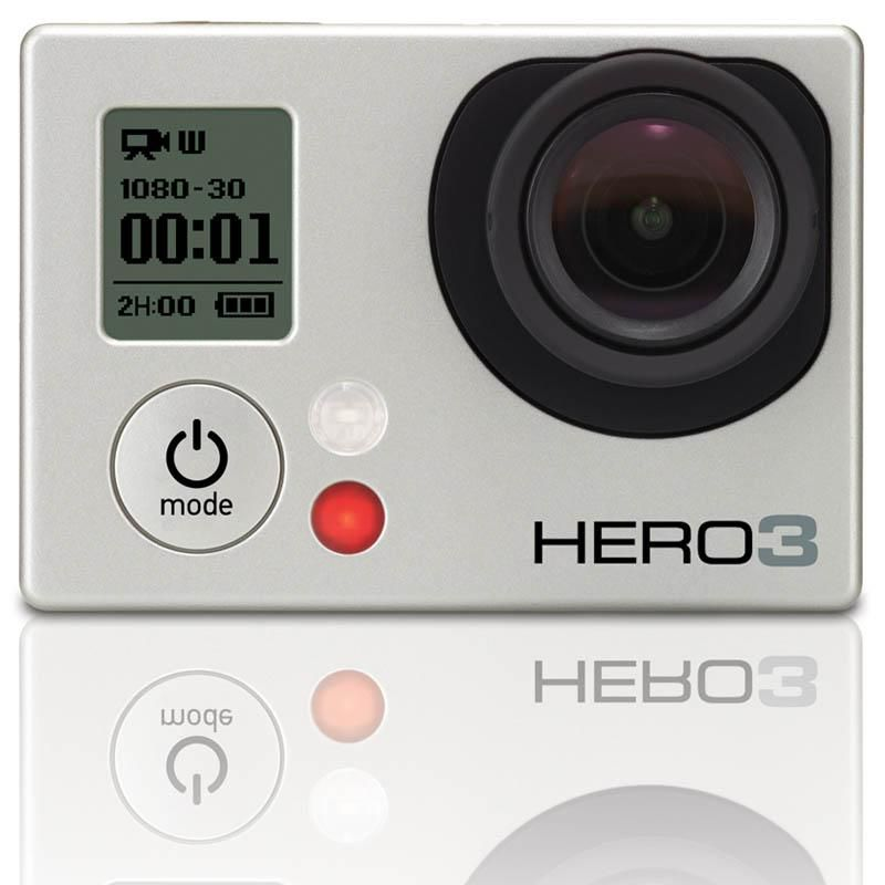 GoPro HD Hero 3 Silver.Foto: GoPro