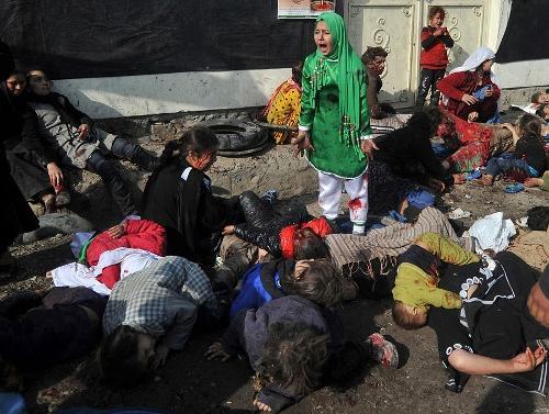 Foto: Massoud Hossaini, Agence France-Presse.