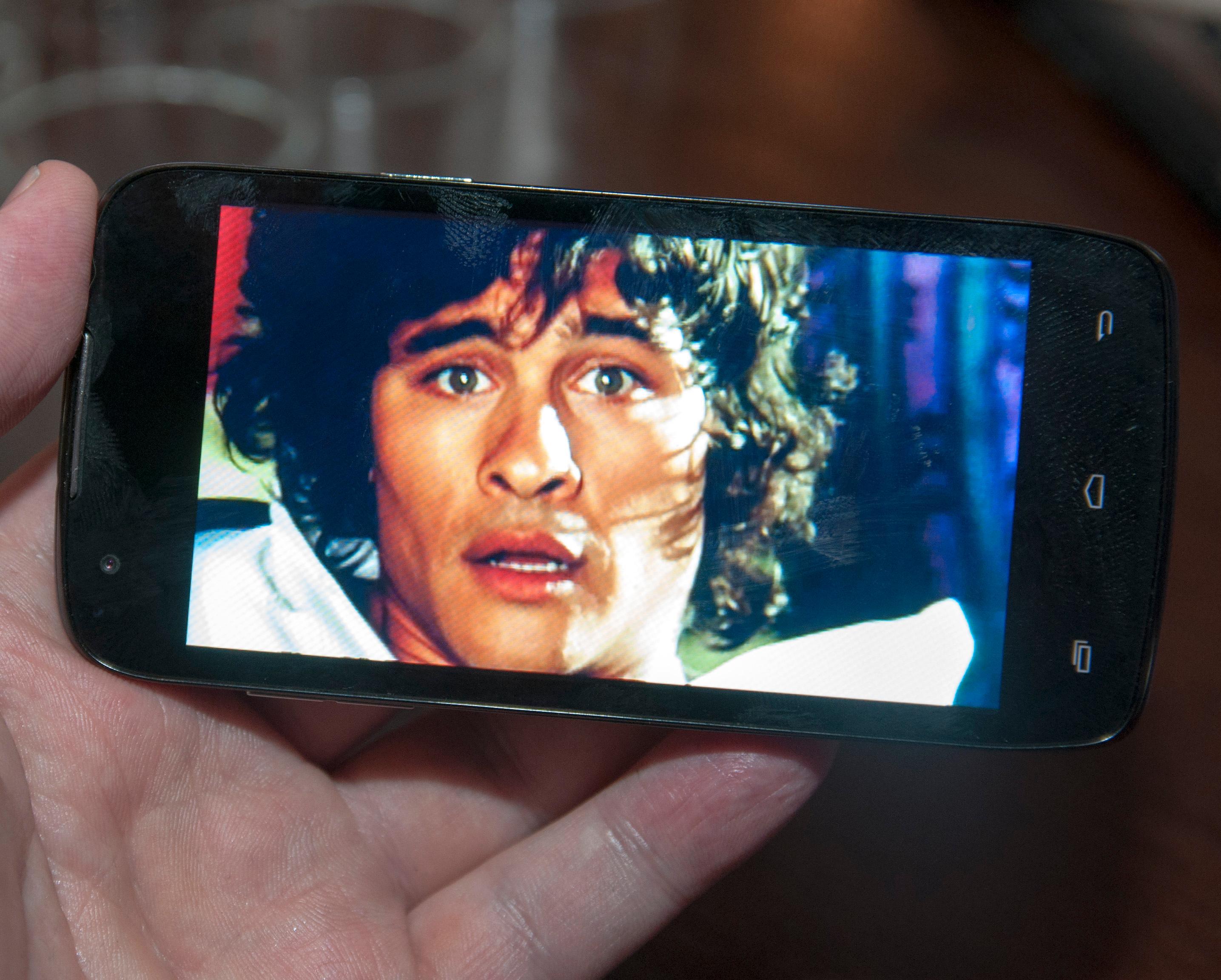 Trooper-telefonene har relativt skuffende skjermer, alle som en. Thunder-serien har langt bedre skjermer, selv om heller ikke disse er i absolutt toppklasse.Foto: Finn Jarle Kvalheim, Amobil.no
