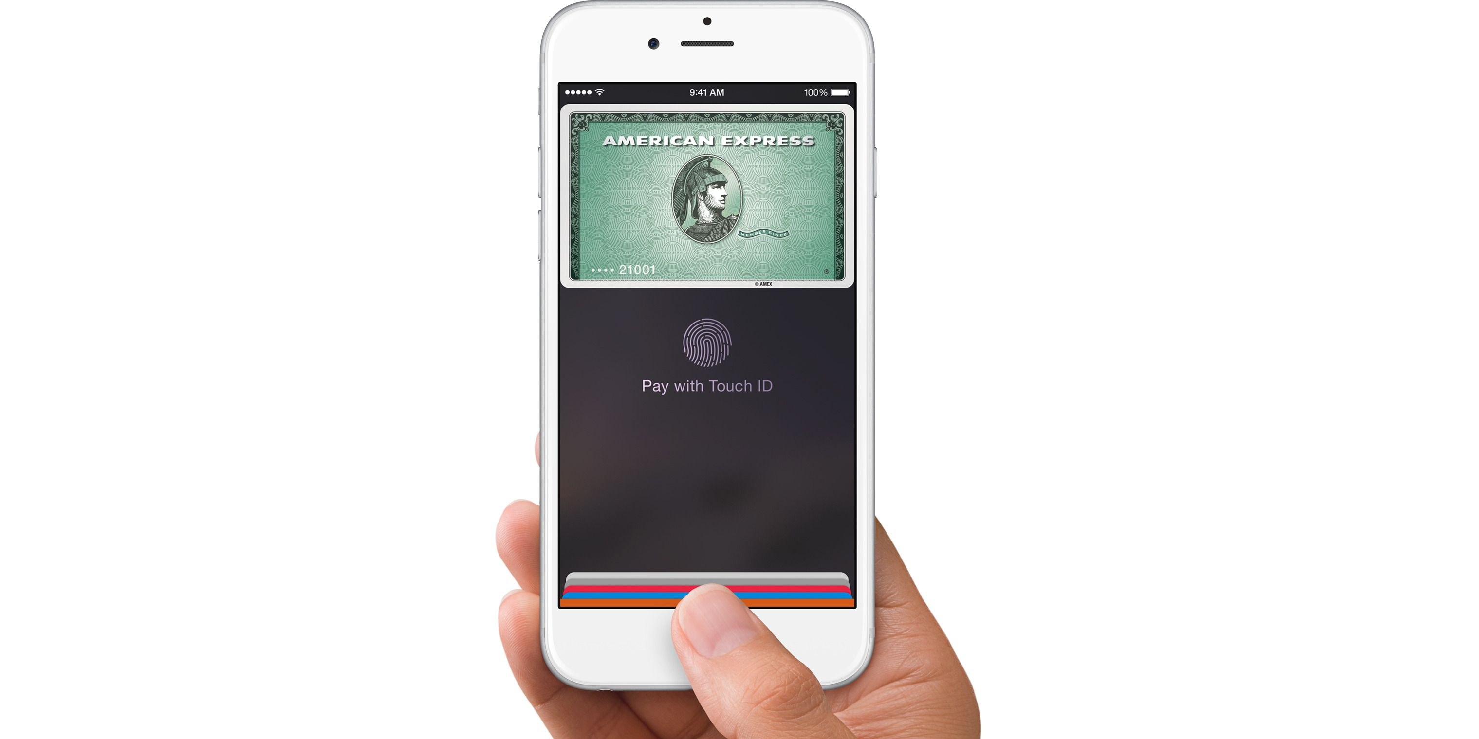 Apple Pay lanseres, men foreløpig bare i USA.Foto: Apple