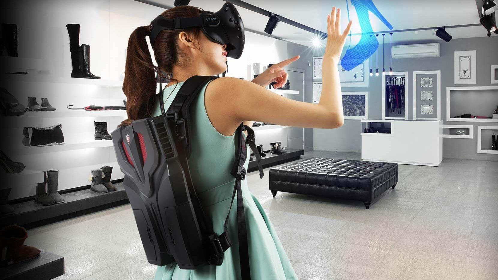 MSI skal snart vise frem en ryggsekk-PC for VR