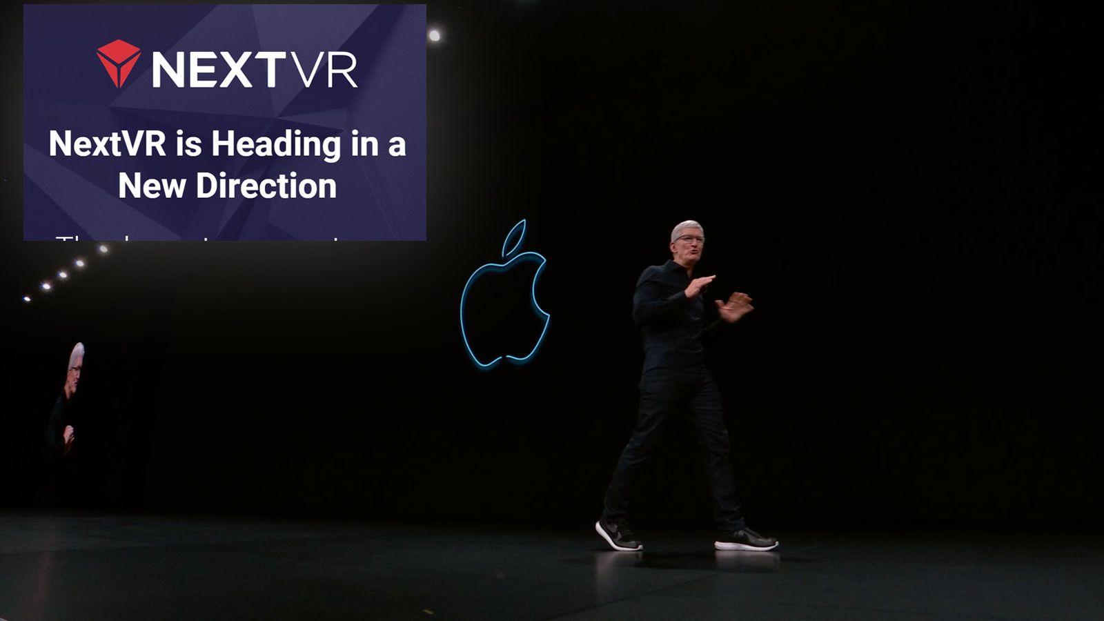 Apple kjøper VR-selskap