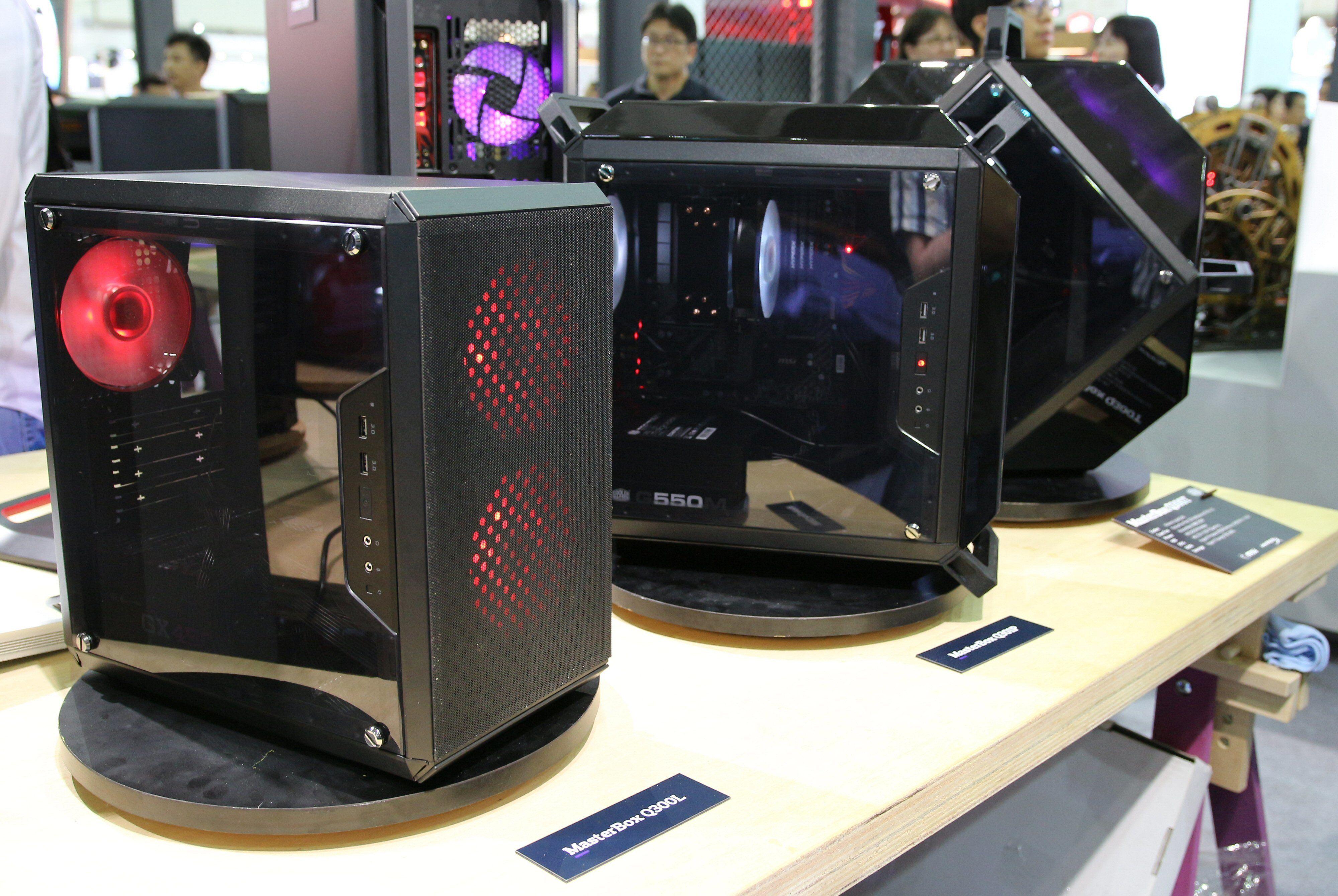 Cooler Master MasterBox Q-series.