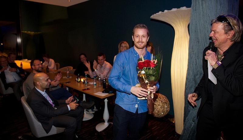 Fra fjorårets AppWorks-prisutdeling.Foto: Eirik Helland Urke/Mediehuset TEK