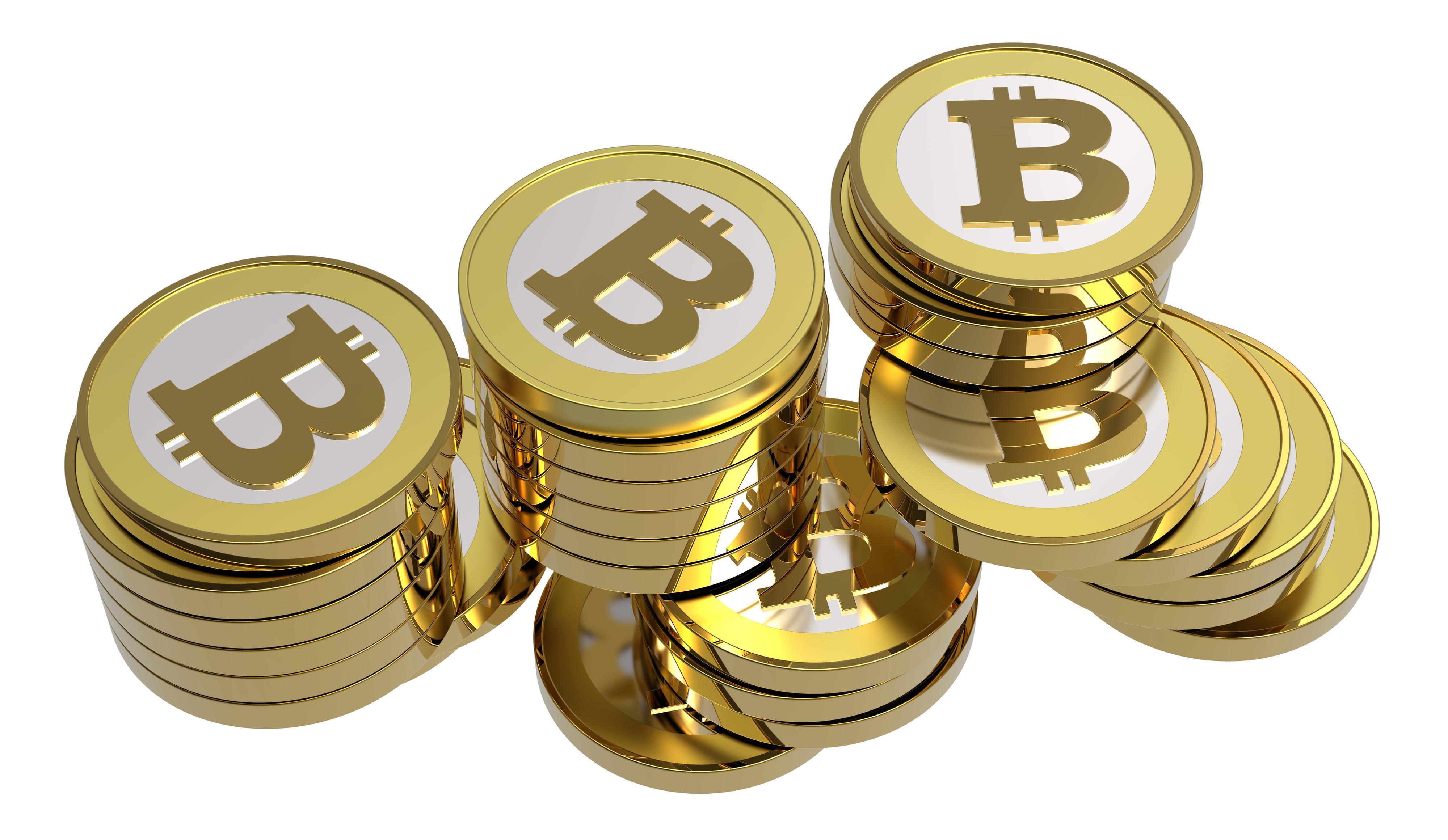 Bitcoins er ikke fysiske penger som disse – men de har en verdi.Foto: ppart/Shutterstock