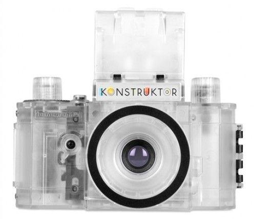 Et gjennomsiktig kamera duger ikke til fotografering.Foto: Lomography.com