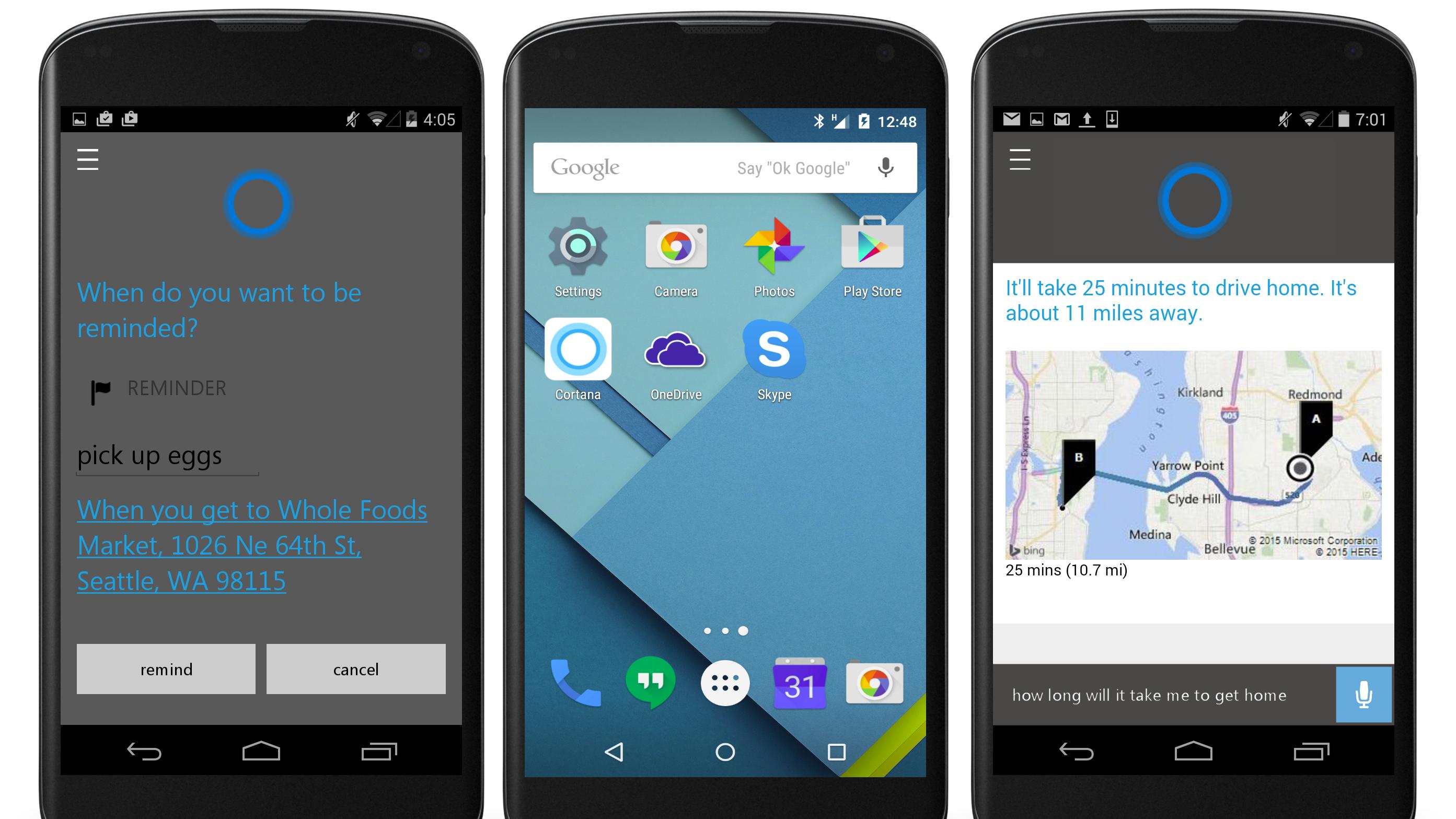 Microsoft lanserer stemmeassistenten sin til Android og iOS